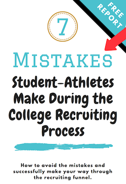 Recruiting Mistakes Student-Athletes Should Avoid
