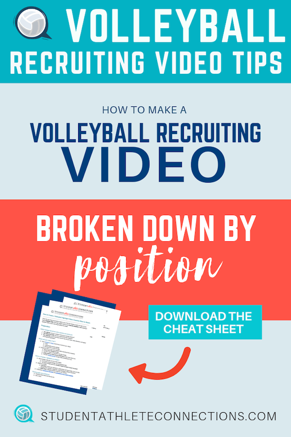 what to include in your volleyball highlight video by position-pin