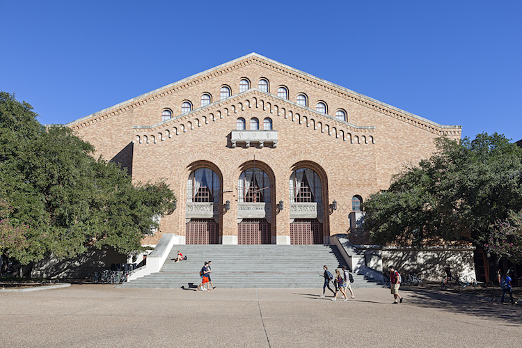 Gregory Gymnasium BuBuilding at University of Texas