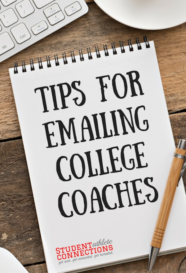 recruiting - tips for emailing college coaches