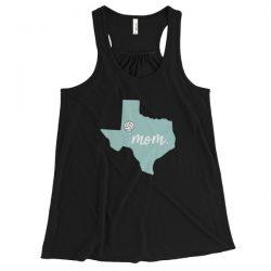 Texas Volleyball Mom Map | Women's Flowy Tank