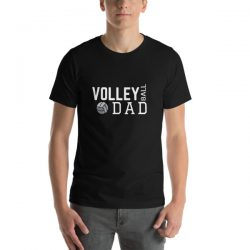 Volleyball Dad | Men's Short-Sleeve T-Shirt