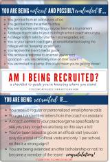 am I being recruited checklist