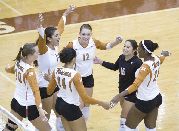 texas longhorns volleyball student athlete connections