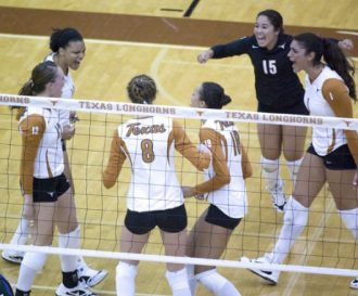 volleyball recruiting experience at Texas