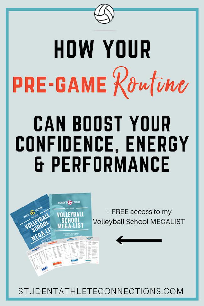 pre-game routine