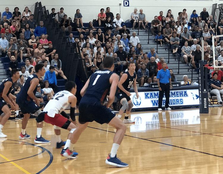 Erik Shoji USA Volleyball in Hawaii July 2018