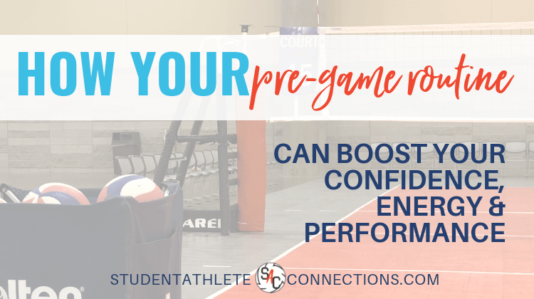 pre-game routine boosts performance