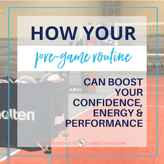 How important a pre-game routine can be for your game