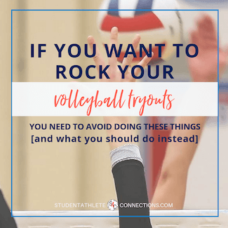 rock your volleyball tryouts - tips for your next tryout