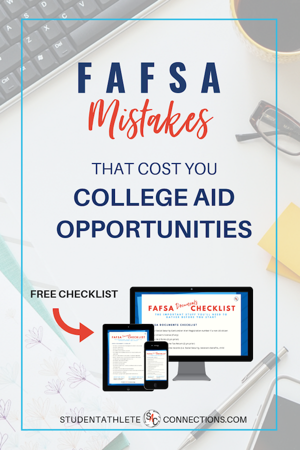 FAFSA mistakes that cost you college aid opportunities