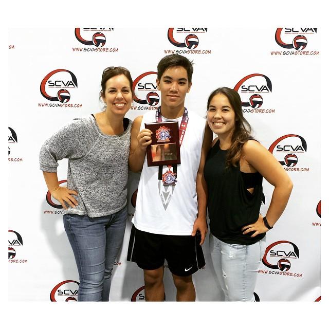 yogi family at scva classic volleyball recruiting tournament 2015