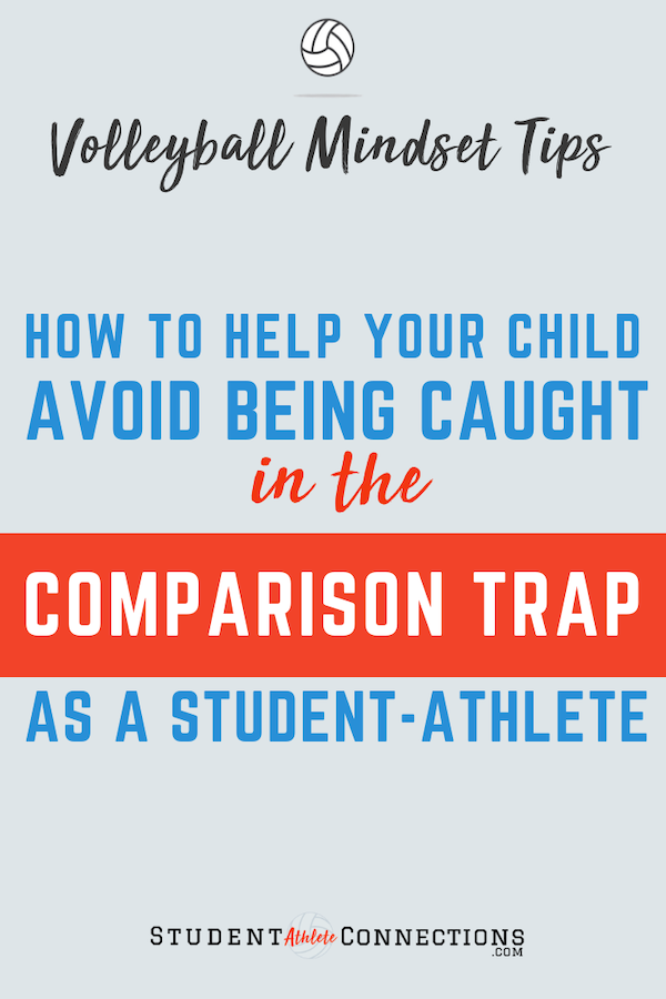 comparison trap of volleyball athletes