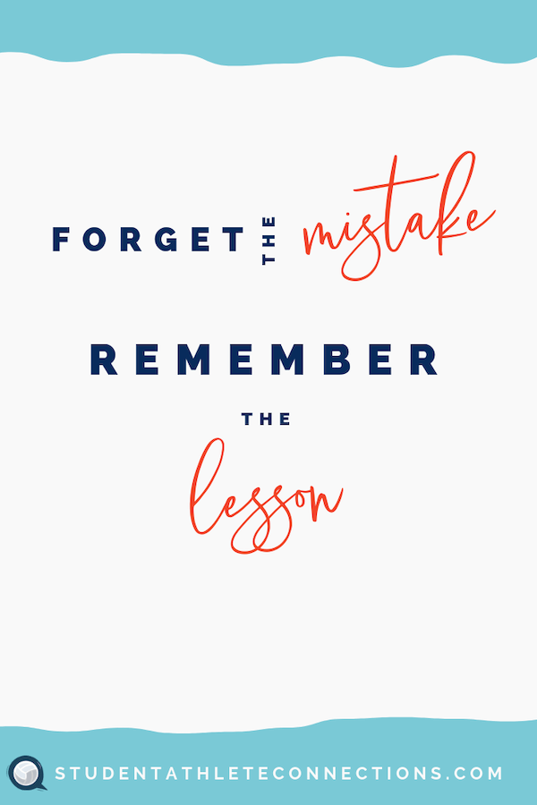 volleyball motivation quotes forget mistake
