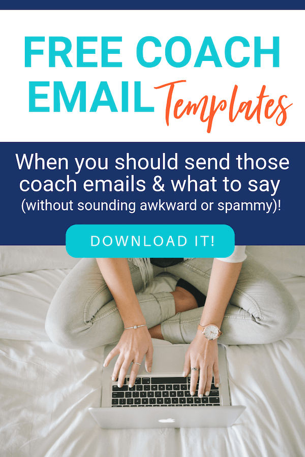 volleyball email templates