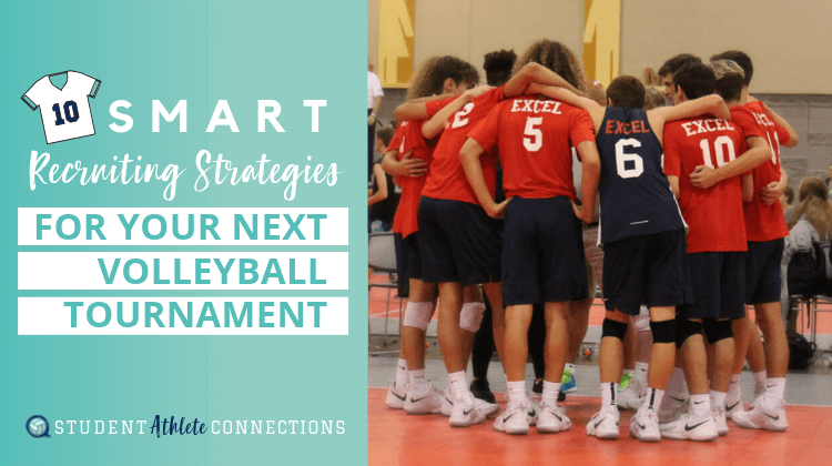 recruiting strategies for your next tourney